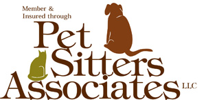 Fully Insured Member of Pet Sitters Associates LLC